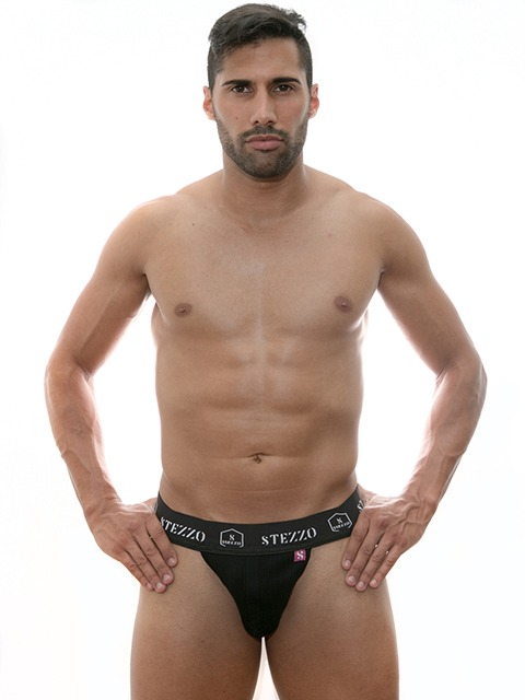 Stezzo Men's Underwear | Briefs Jockstraps Black