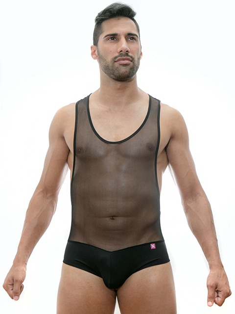 Stezzo Men's Underwear | Mesh Body Front