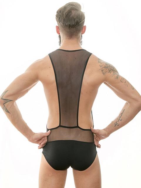 tezzo Men's Underwear | Mesh Body Back